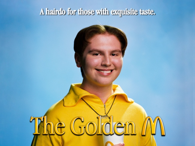 McDonald's The Golden M haircut