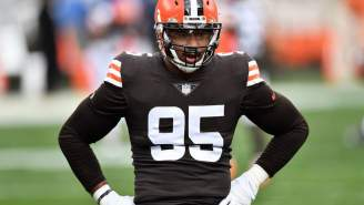 Stats Show Just How Much COVID Is Still Kicking Myles Garrett's Ass Since His Return To The Field