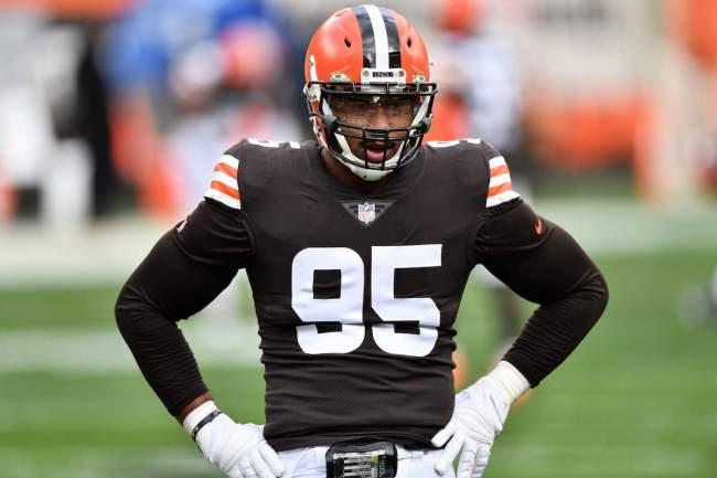 Browns defender Myles Garrett's stats have floundered since he returned from a positive COVID test