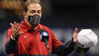 Get A Load Of This Entitled Sports Anchor Calling Out A Young Colleague For Addressing Nick Saban As Simply 'Nick'