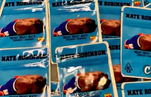 nate robinson knocked out marijuana bags