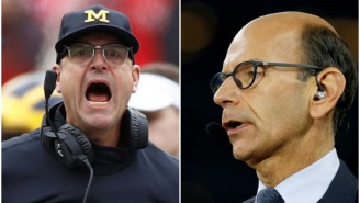 Paul Finebaum Thinks Michigan Should Fire Jim Harbaugh Even If The Wolverines Upset Ohio State