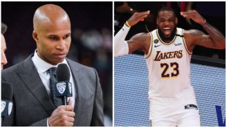 LeBron James Projects Insecurities By Brutally Mocking Richard Jefferson's Baldness During A Live Broadcast