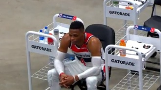 Russell Westbrook Looked Really Sad On The Bench, Bradly Beal Refused To Speak To The Media After Wizards Lose To Go 0-4 On The Season