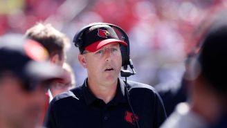 Louisville Coach Scott Satterfield Suffers Word Vomit, Says Players Must Be 'All In' While Coaches Must Think Of Their Families