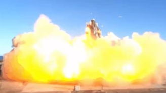 SpaceX Starship Prototype Blows Up In Fiery Explosion At The Last Second