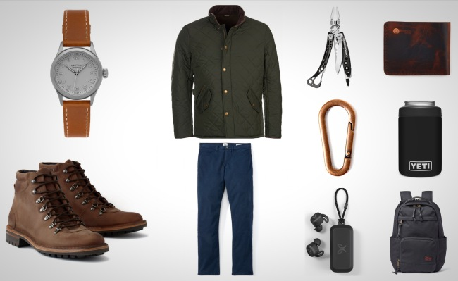 stylish and rugged everyday carry essentials