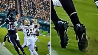 Eagles Fans Blast Refs After Zach Ertz Sideline Catch Was Somehow Ruled Incomplete By Replay Review