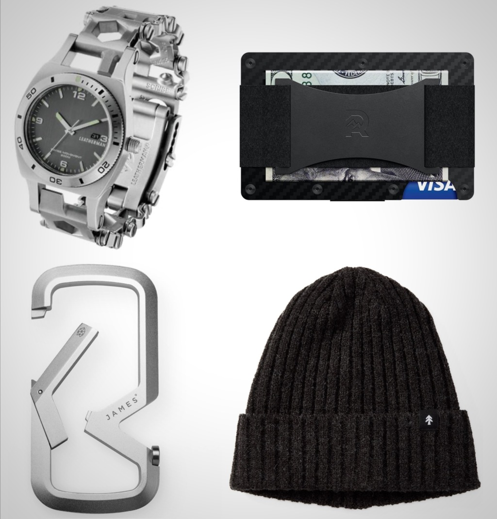 2021 best everyday carry essentials black and silver