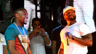 50 Cent Hilariously Clowns Floyd Mayweather For Allegedly Getting A Beard Transplant
