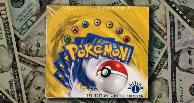 Box Of Pokemon Cards Sold For Record 408000