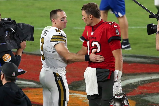 Brady and Brees Oldest QB Matchup NFL