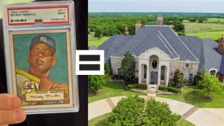 Vegas Dave's $3.9 Million Record Sports Card Sale Obliterated By 1952 Mickey Mantle Card
