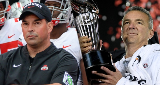 Chargers Talking To Urban Meyer Eagles Reportedly Interested Ryan Day