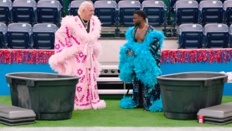 Kevin Hart Talking Crap About The Rock To Ric Flair On 'Cold As Balls' Is Way Too Funny