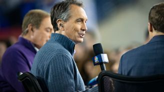 Cris Collinsworth Reacts To Not One Contestant On 'Jeopardy' Knowing He's The Answer To A Question