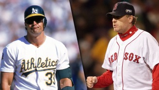 Curt Schilling And Jose Canseco Get Into Twitter Beef Over HOF Vote, Because Of Course They Did