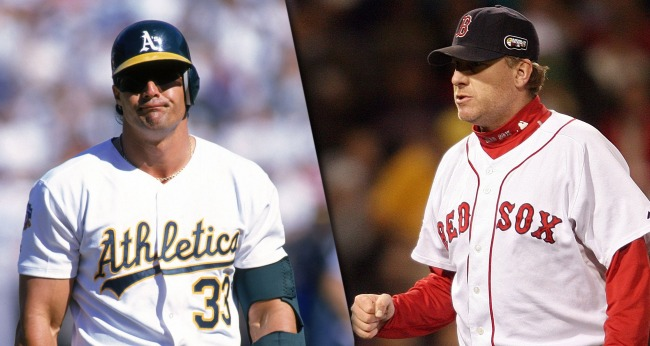 Curt Schilling And Jose Canseco Got Into A Twitter Fight Over The HOF