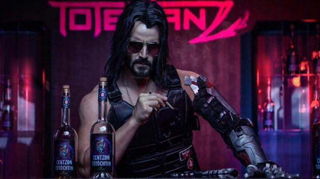 Cyberpunk 2077 Gamers Keep Sleeping With Keanu Reeves Character