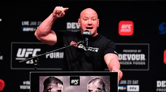 Dana White Says He Will Get A Certain Guy If He Pirates UFC 257