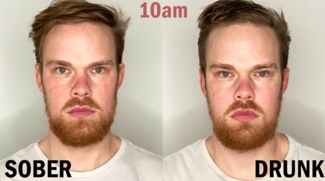 Did You Know Getting Drunk Changes The Way Your Face Looks