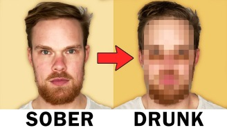 Did You Know Getting Drunk Actually Changes The Way Your Face Looks? Here's How And Why