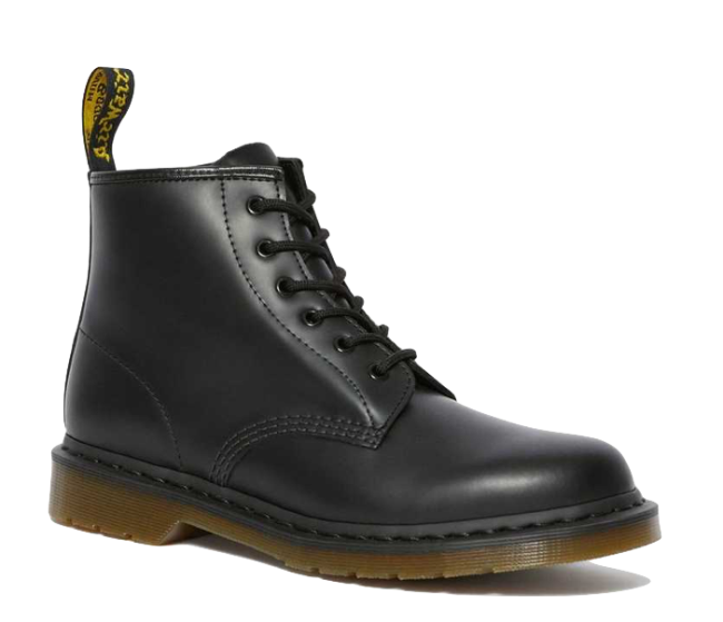 Dr. Martens 101 Smooth Leather Ankle Boots