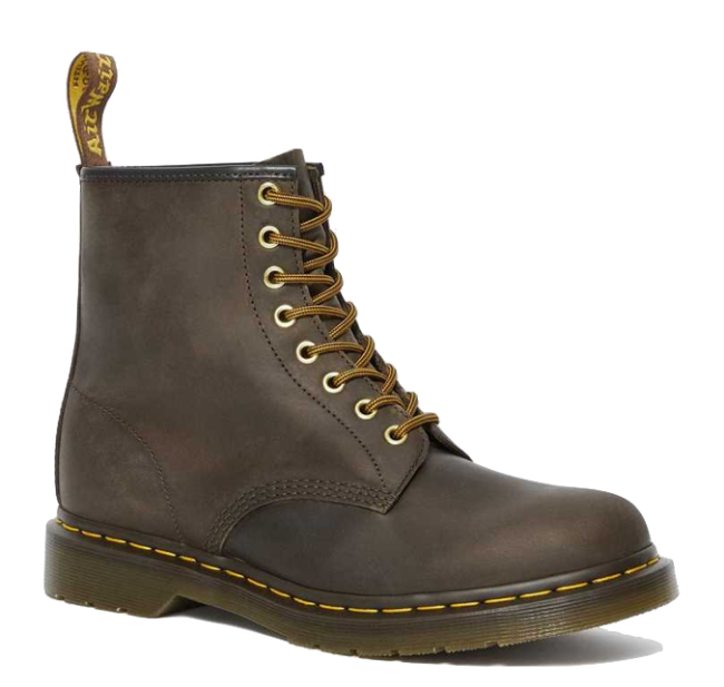 Dr. Martens 1460 Crazy Horse Leather Lace Up Boots