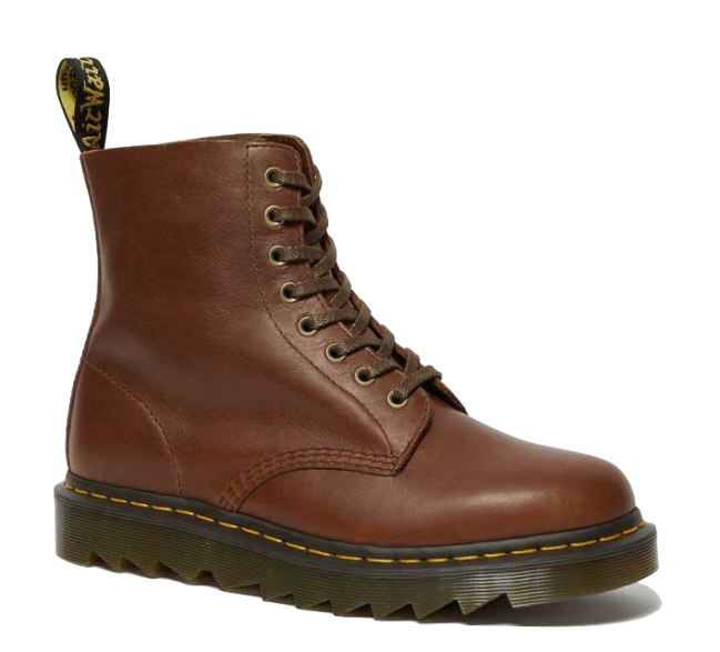Dr Martens 1460 Pascal Ziggy Leather Lace Up Boots