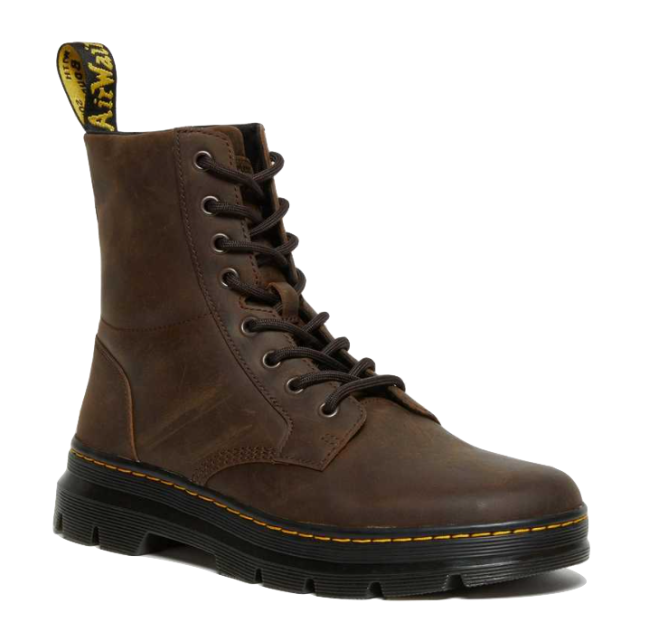 Dr. Martens Combs Crazy Horse Leather Casual Boots