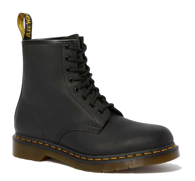 Dr. Martens 1460 Greasy Leather Lace Up Boots