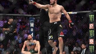 Khabib Nurmagomedov Takes A Shot At Conor McGregor After His UFC 257 Loss