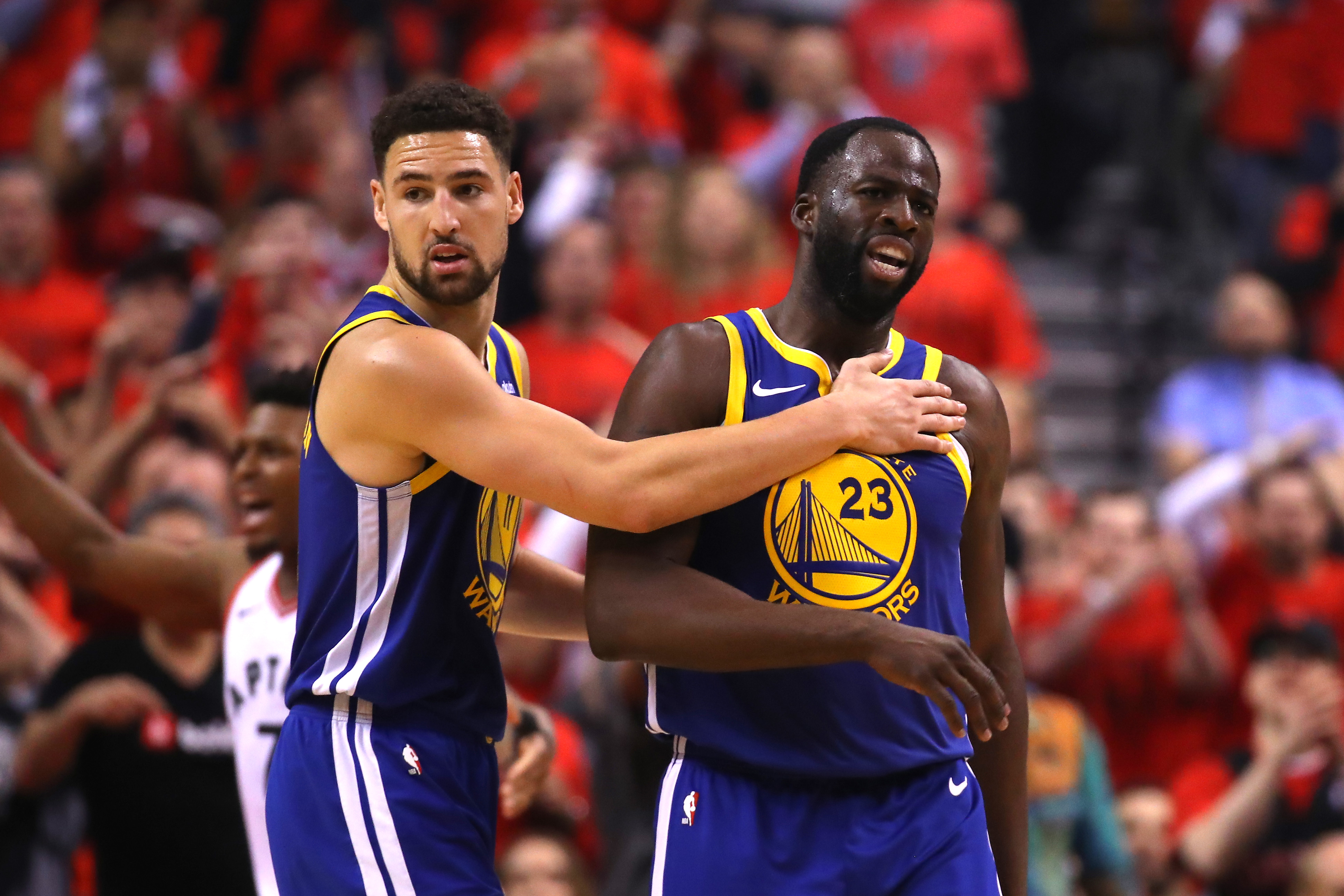Klay Thompson And Draymond Green Mercilessly Mock 'Tough Guy' Rodney McGruder For Trying To Fight Warriors Player After Game - BroBible