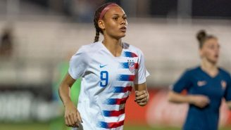 Trinity Rodman, Dennis Rodman's Daughter, Declares For NWSL Draft, Expected To Be First-Round Pick