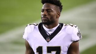 Emmanuel Sanders Reached His $500,000 Bonus Against The Panthers And Knew It Right Away