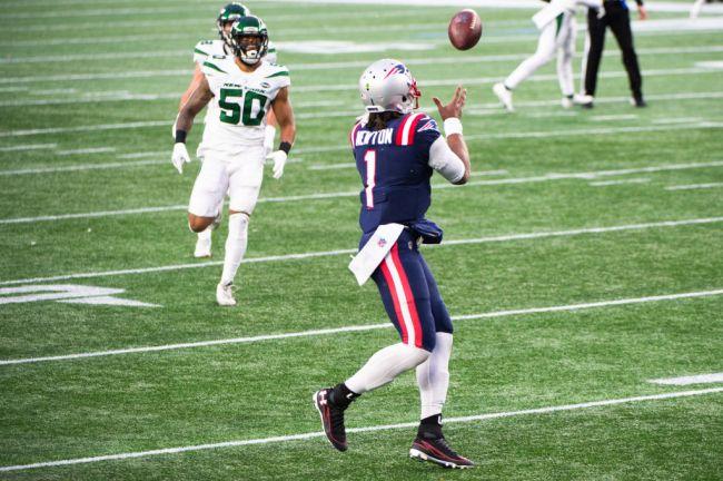Cam Newton Patriots Catch