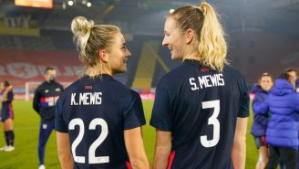 Mewis Sisters Score Four Goals In USWNT's First Game Of 2021 As Sammy Records Hat Trick, Kristie Extends Streak