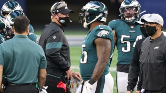 'Shocked And Outraged' Eagles Players Reportedly Had To Be Held Back From Confronting HC Doug Pederson