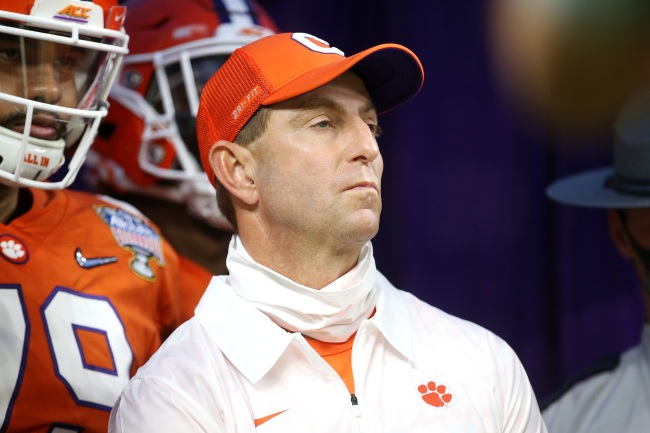 Clemson HC Dabo Swinney Gets Mercilessly Mocked For Getting Blown Out By Ohio State After Ranking Them 11th In His Coaches' Poll