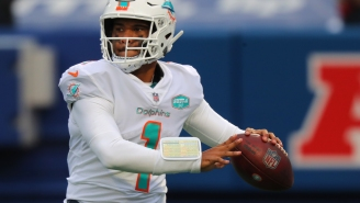 Anonymous Dolphins Players Rip Into Tua Tagovailoa, Say They're 'Unimpressed' With His Play And Believe Ryan Fitzpatrick Is Better