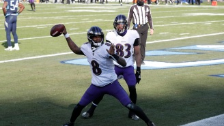 ESPN Hot Mic Picks Up Hyped Up Ravens QB Lamar Jackson Cursing Up A Storm After Insane 48-Yard TD Run
