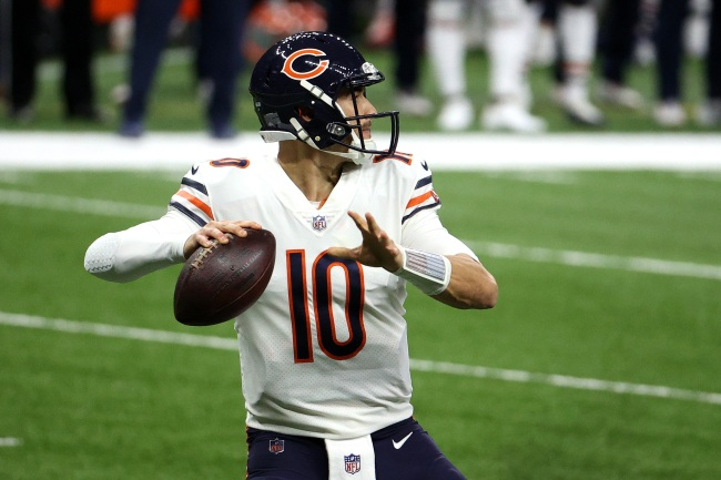 Mitch Trubisky Gets Hilarious Wikipedia Update After Awkwardly Winning Nickelodeon MVP Award After Bears Lose To Saints