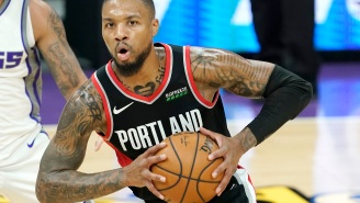 Things Get Awkward When Dame Lillard Calls Out Reporter For Tweets Undermining Blazers Backcourt