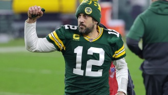 A Dejected Aaron Rodgers Made Cryptic Comments After Loss To Bucs That Led Many To Believe He's Contemplating Retirement