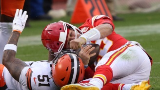 Patrick Mahomes' Mom Calls Out 'Evil' Browns LB Mack Wilson For Hit That Knocked Out Chiefs QB