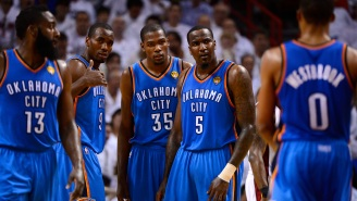 Kendrick Perkins Says James Harden Played Terribly During 2012 NBA Finals Because He Was Out Partying At Strip Clubs In Miami