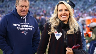 Bill Belichick's Girlfriend Implies That Tom Brady Doesn't Deserve Credit For Win Vs Saints While Firing Back At Fan
