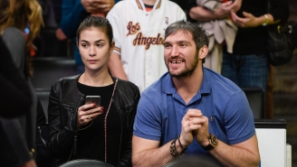 Alex Ovechkin's Wife Rips The NHL To Shreds For Disciplining Her Husband Over Rule That Bans Players From Hanging Out in Hotel Rooms