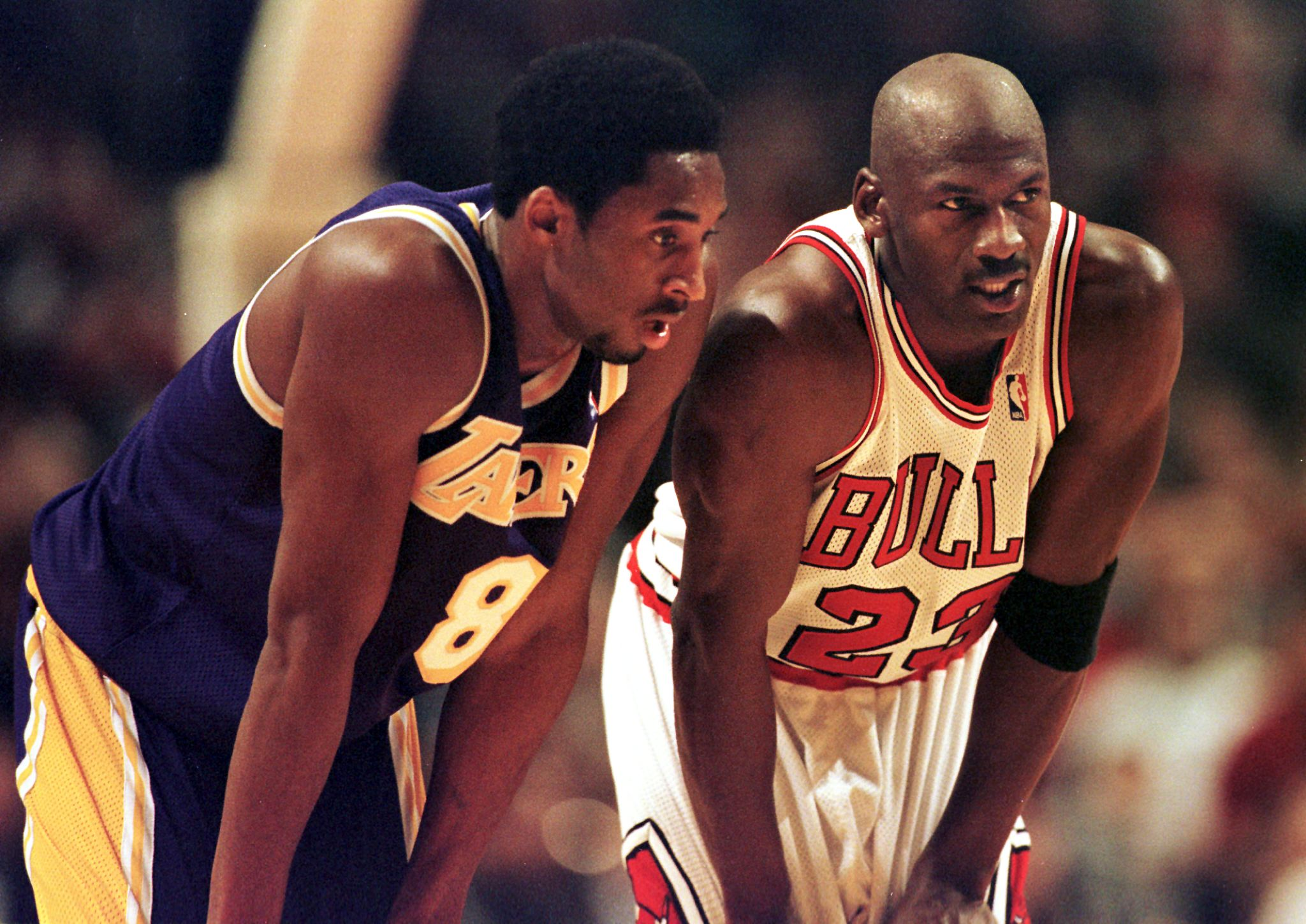 The Advice Michael Jordan Gave A Young Kobe Bryant, Who First Took It As An Insult