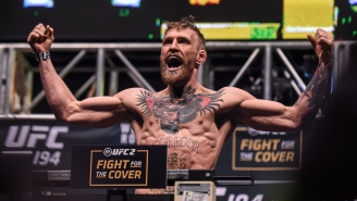 Conor McGregor Looks Skinny At 155 Pounds, But We'll Never Forget When He Made 145